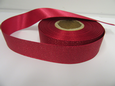 Dark Pink 2 or 20 metres 25mm Glitter Christmas Satin Ribbon Xmas Roll Craft